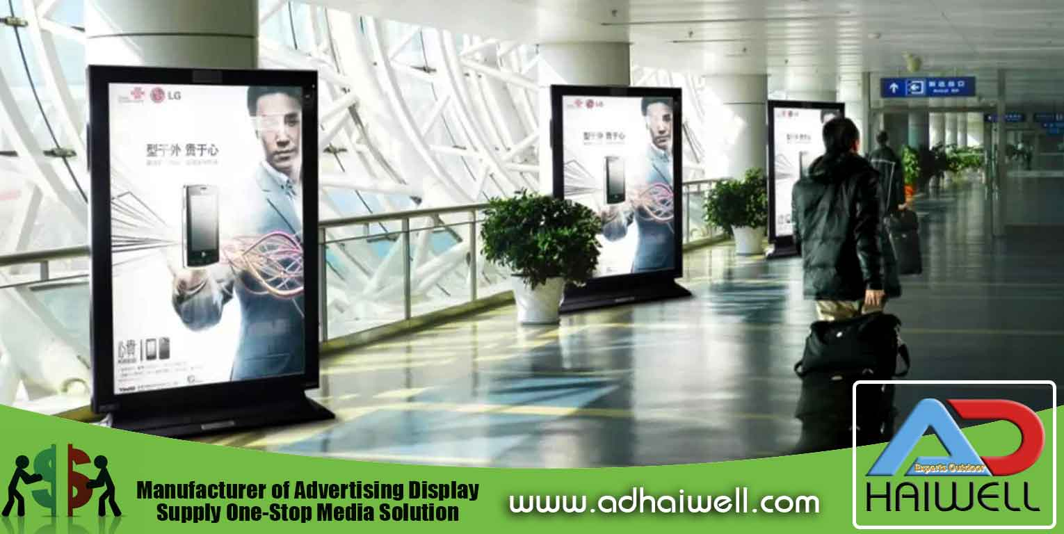 China Supplier Adhaiwell Advertising Lightbox