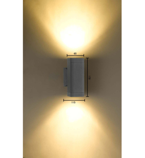 Popular design decorative metal wall lamp (KM - G4011/2)