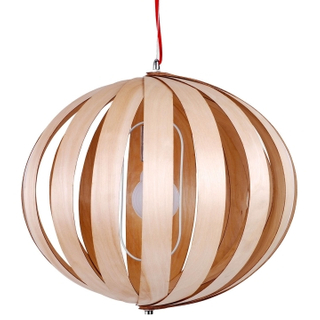 Indoor round lantern decorative wood modern pendant lamps(LBMP-HL )