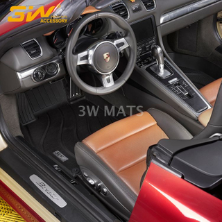 TPE car mat for Porsche 718