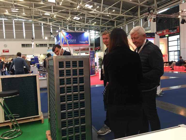 SPRSUN heat pumps at Intersolar 2019