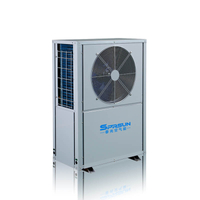 8KW 9KW -25℃ EVI Air Source Heat Pump for Cold Area Home Heating and Cooling