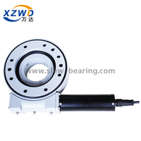 China high quality Single worm gear Slew Drive with 24 DC Motor for Solar Tracker System use