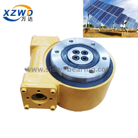 spur gear miniature actuator for solar tracker slewing drive