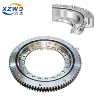 Hot sale one row ball light flanged type slewing ring bearing used for filling machine