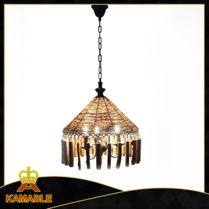 Special style decorative indoor wood pendant lighting (KATZ - 103 - 3)