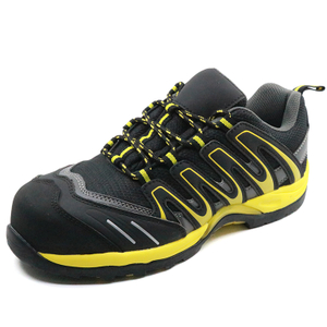 Metal free fashionable sport dielectric safety shoes composite toe