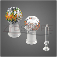 Color mushroom head smoking accessories 14mm 19mm
