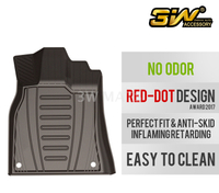 TPE car mat for AUDI A4
