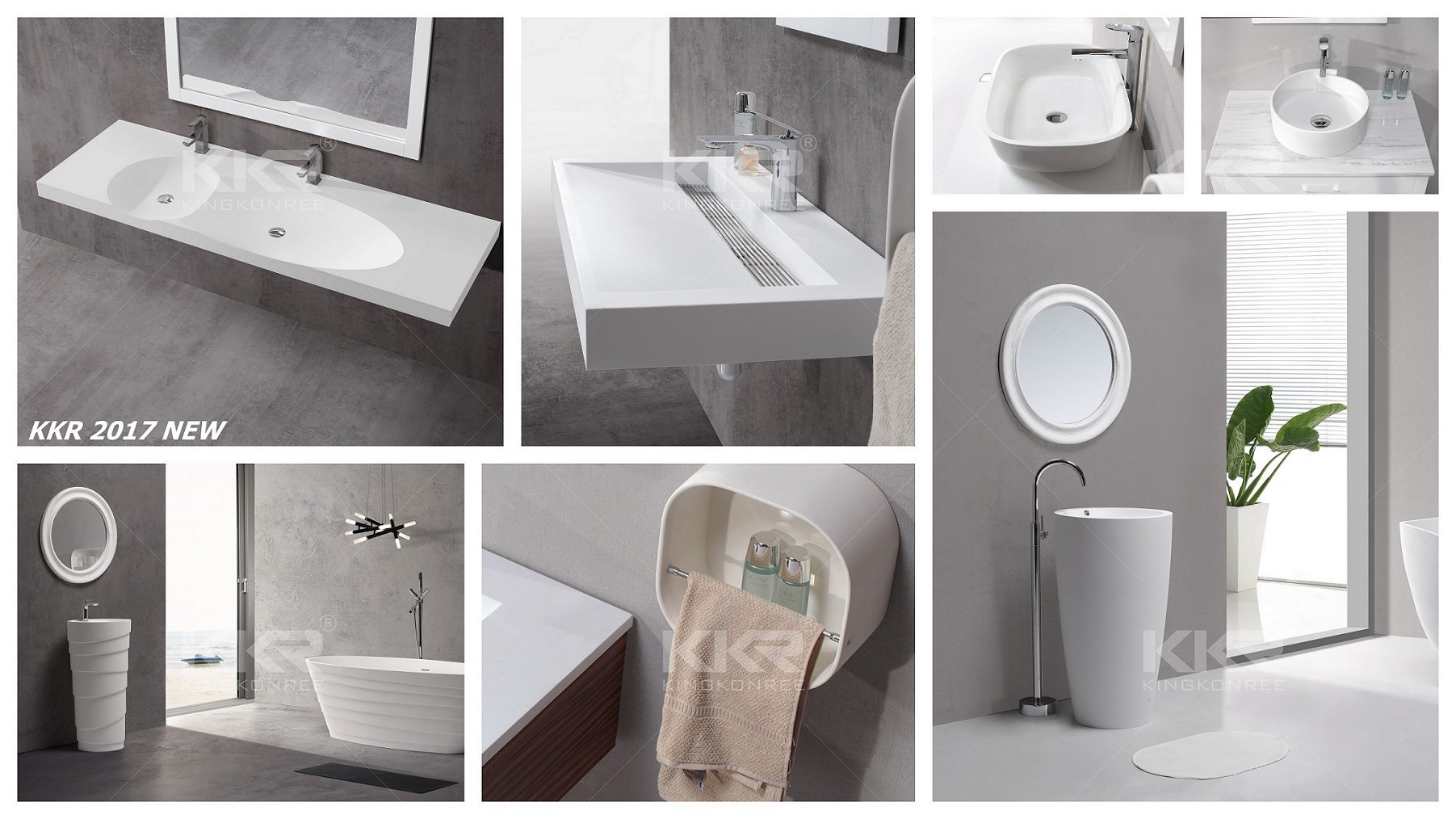 Comparison Of Solid Surface Bathroom Sinks Ceramic Basins
