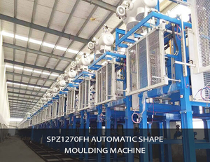 SPZ1270FH automatic shape moulding machine
