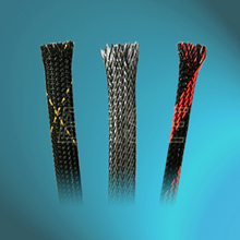 Pet Braided Sleeving with Pattern