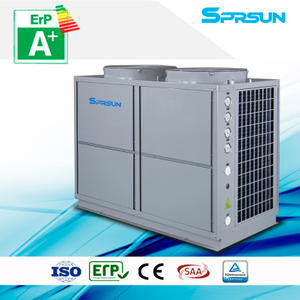 29.6KW 36KW High Efficient Air Source Heat Pump Heating and Cooling System