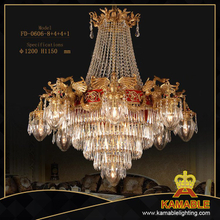 Hotel Classical style decoration pendant chandelier(FD-0606-8+4+4+1)