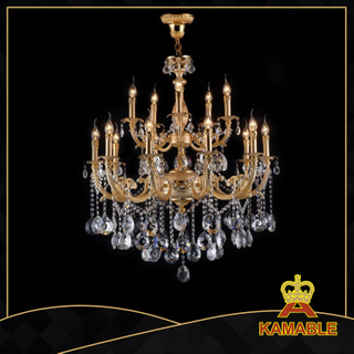 Ethereal indoor decorative cast aluminum chandelier(99557-15L)