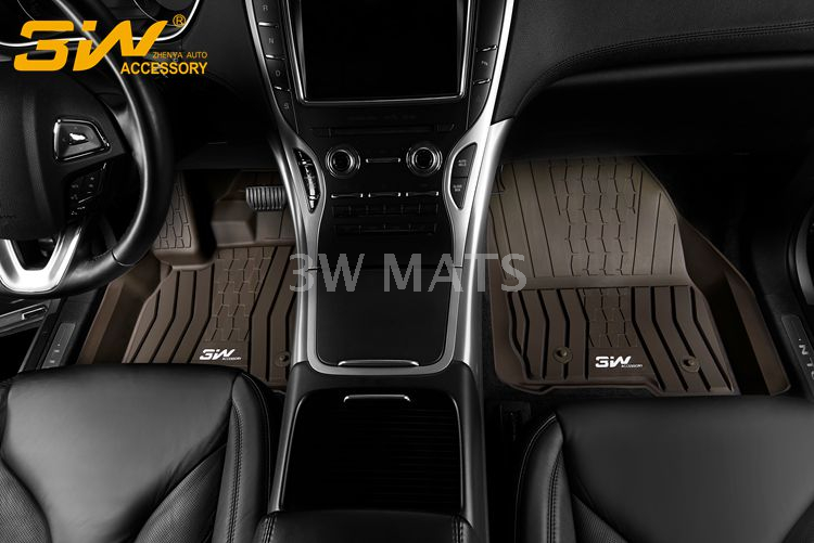 TPE car mat for Lincoln MKX