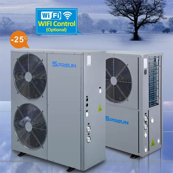 SPRSUN Heat Pump with WiFi Control