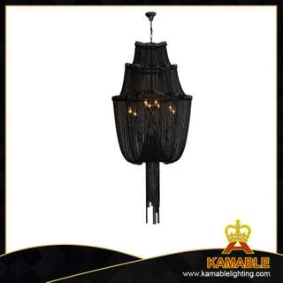 Black home modern Chain chandelier(KA116)