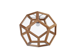 Newest design lantern decorative wood modern pendant lamps(LBMP-WX )
