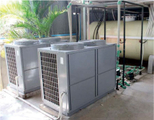 Multiple Protections of Air Source Heat Pumps