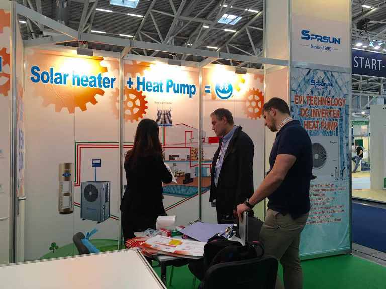SPRSUN EVI heat pumps at Intersolar 2019