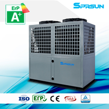 20P 75℃ hot water high temperature air source heat pump heating