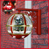 (LW30033S-RJ11) Christmas Tree Inside Festival Red Wall Decoration Lamp with LEDs
