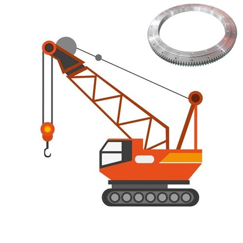 slewing ring alpplication for crane