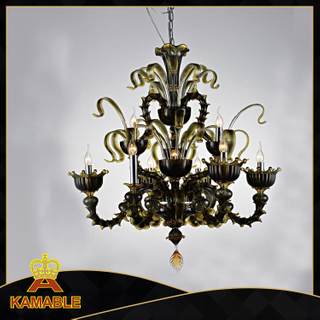 high quality lowest price murano glass chandelier (80167-10)