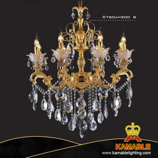 Graceful indoor decorative cast aluminum chandelier(cos9094 )
