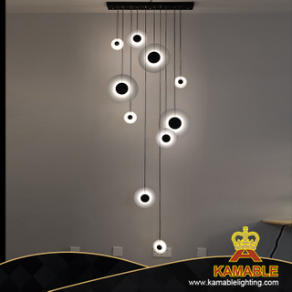 New Design Office Decorative Modern Simple Project Lighting LED Acrylic Pendant Lamp (KHP811)