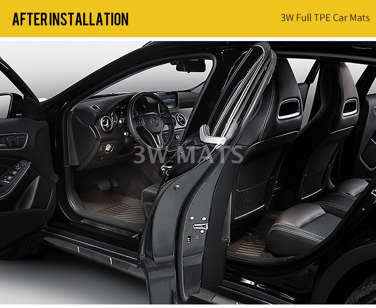 TPE mats for BENZ--GLS/GLE /GLC/ GLA/ ML/B/ CL/ EL/ C/ E/ CLA