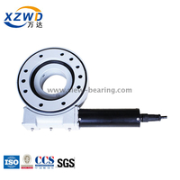 Xuzhou Wanda Enclosed housing SE Series anti-corrosion small slewing drive SE7 with electric motor for solar tracking