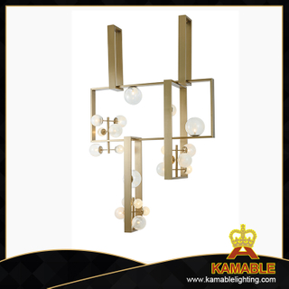 Fancy style indoor decorative galss shade pendant lamp(KAP18-060)