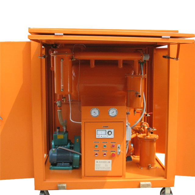 Series ZYB-M outdoor mobile insulating oil regeneration system