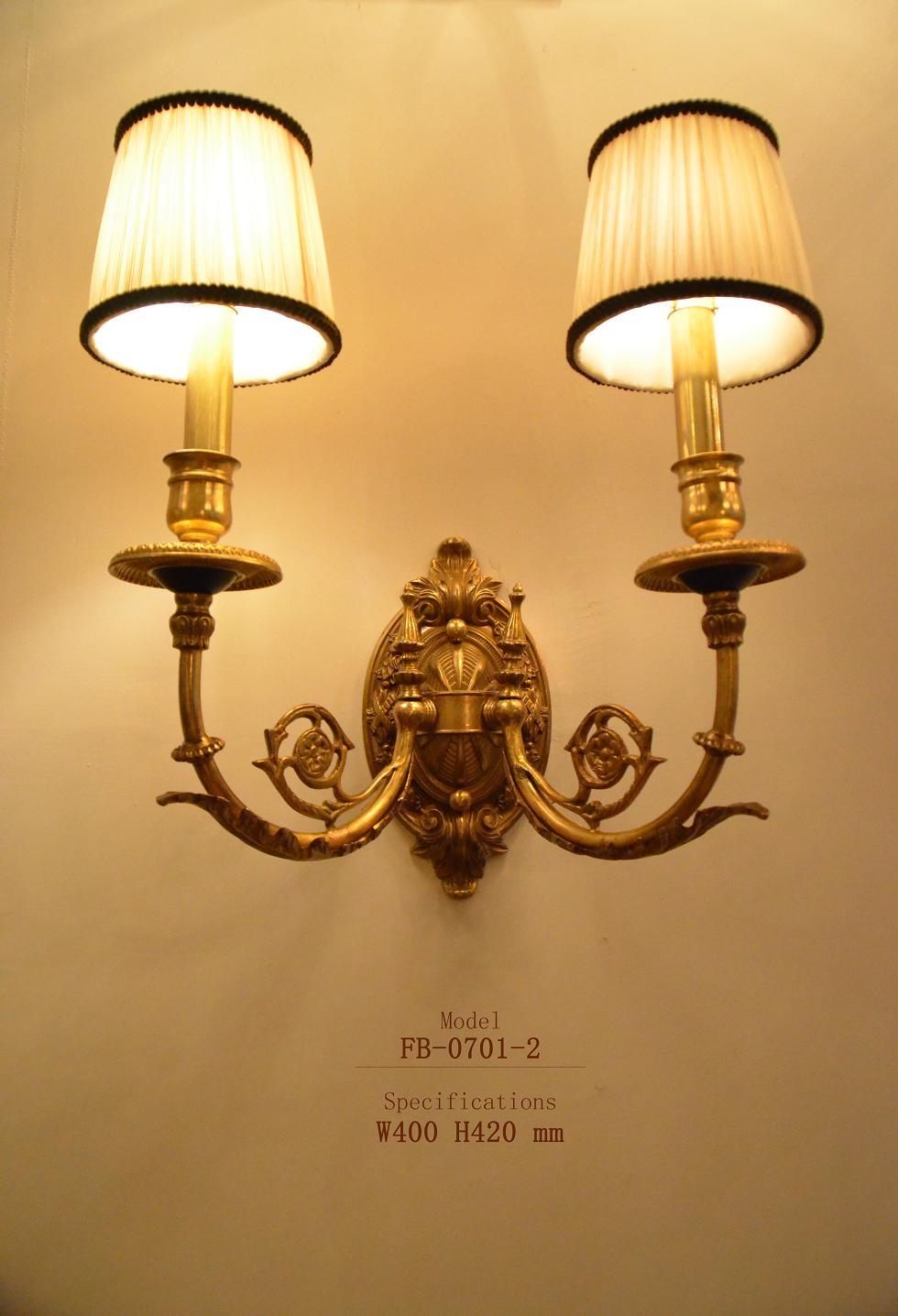 Original style indoor decorative brass wall lamp(FB-0701-2) - Buy ...