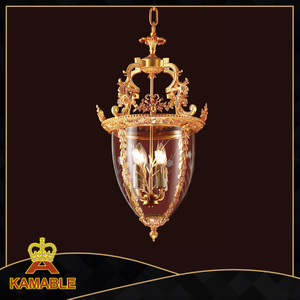 Antique Hotel Project Brass Pendant Light (KAMD0373-4D)