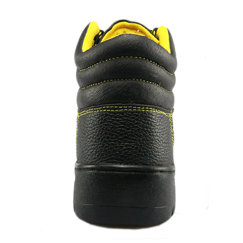 RB1010 cheap rubber sole construction site safety boots shoes
