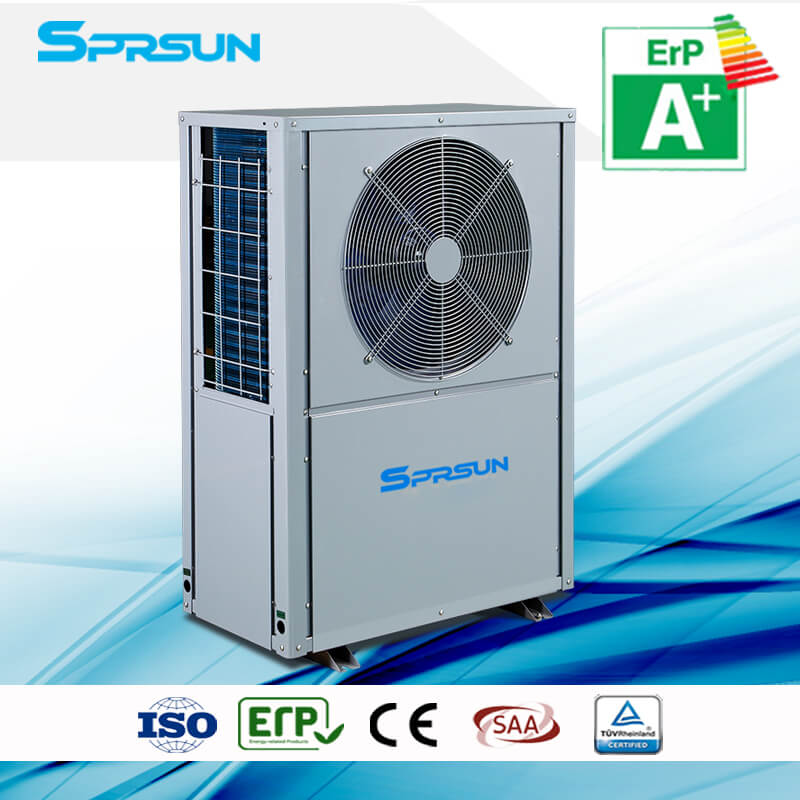 3P -25℃ EVI Air Source Heat Pump for Cold Area Hot Water & Home Heating