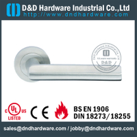 Antirust Stainless Steel Lever Handle for Wooden Doors-DDSH086