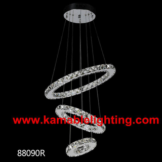 Modern Circular Ring Crystal LED Lighting (KA88090D)