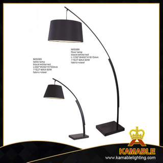 Home decorative modern arc steel table lights (MT5089-B)