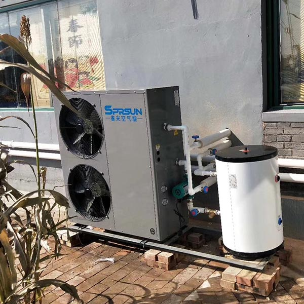 SPRSUN Air Source Hot Water Heat Pump for Villas