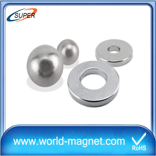 Strong Ring Neodymium Magnet for Motor