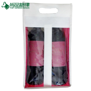 4 Bottles Non Woven Holder Wine Bag (TP-WB079)