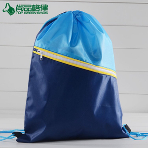 Wholesale draw string sport shoe bag drawstring swim bag backpack(TP-DB330)