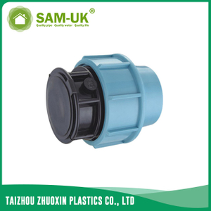 PP end cap for irrigation water