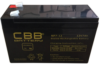 CBB® NP7-12 VRLA AGM Battery