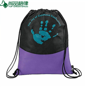 Promotional Cheap Non Woven Drawstring Sports Bag (TP-dB228)