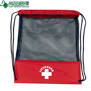 Wholesale Drawstring Backpack Mesh Sports Bag (TP-dB215)